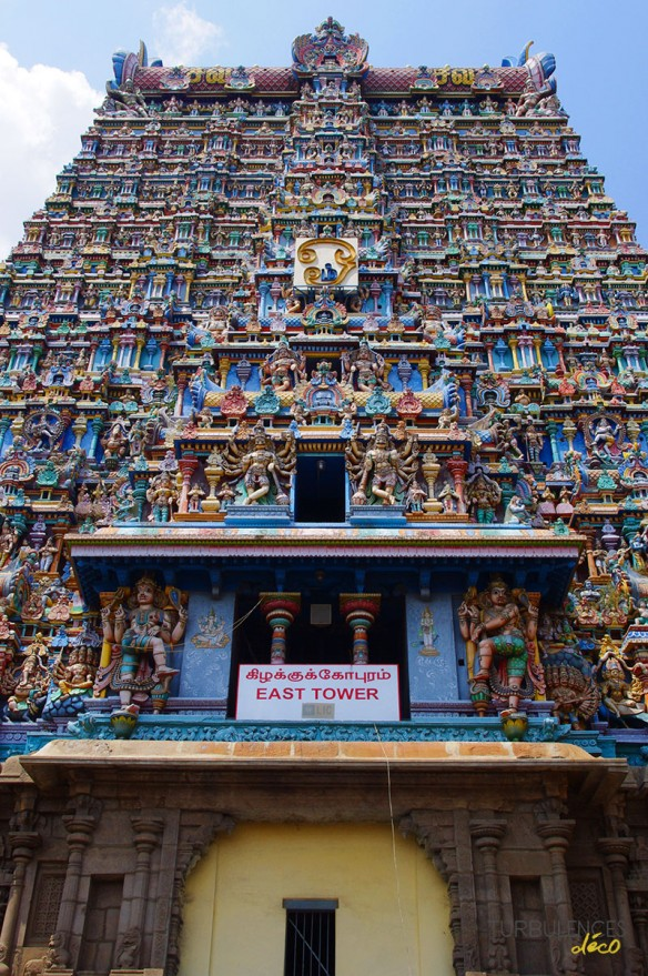 Voyage en Inde - Temple de Mînâkshî, Madurai