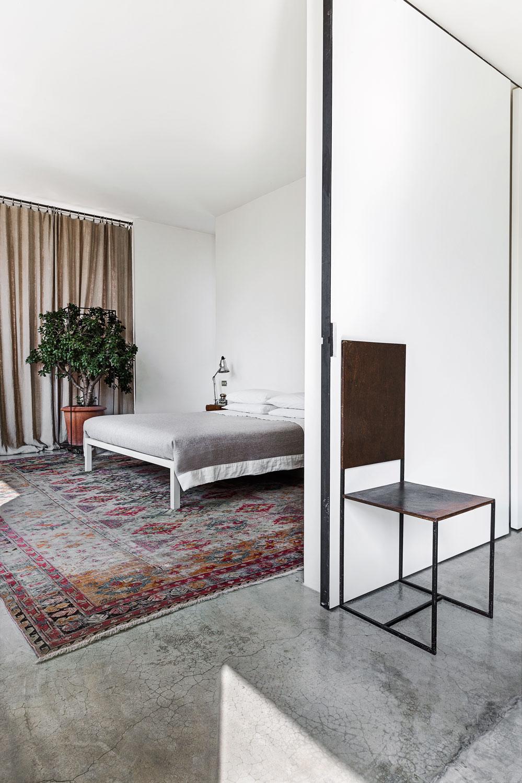 Le loft d'Antonino Sciortino à Milan