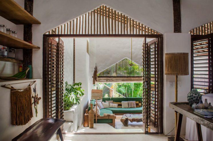 La casa Tiba à Trancoso au Brésil : ambiance tropicale chic