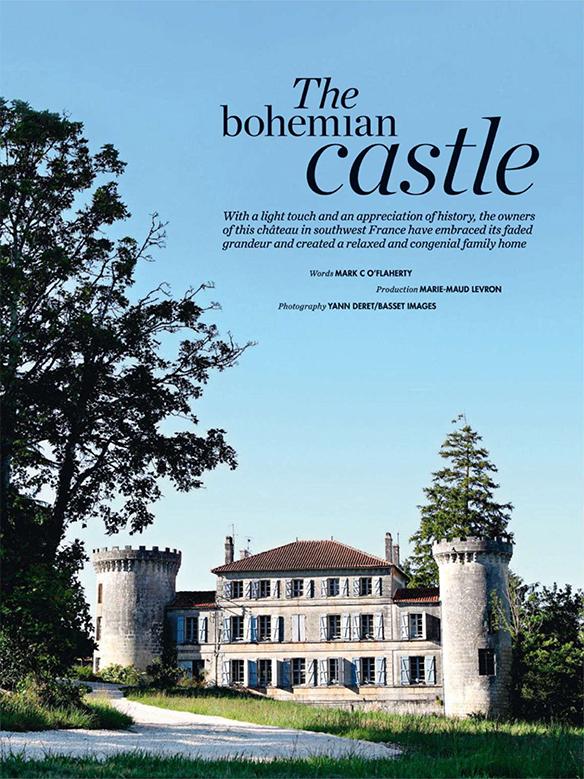 Château de Dirac - Les petites emplettes |via Elle decoration Uk