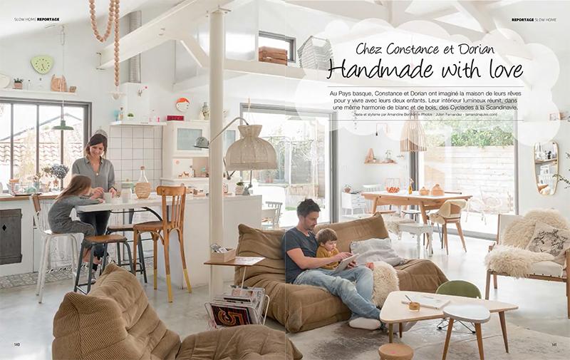 Esprit entre Scandinavie et Cyclades pour la maison de Constance et Dorian à Biarritz