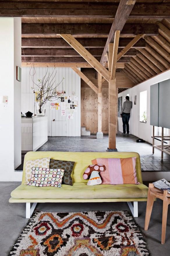 Ina et Matt Barns House - Pays Bas || Modernité rustique