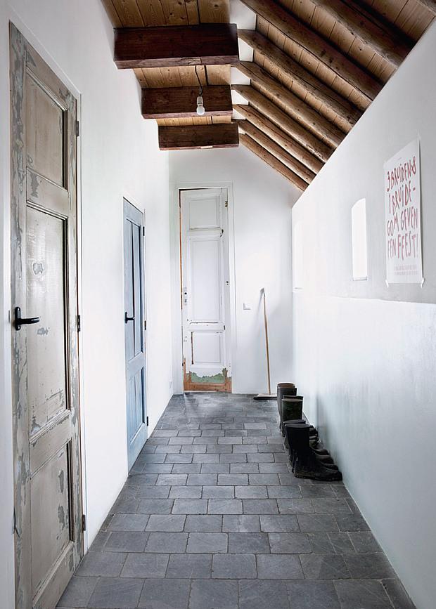 Ina et Matt Barns House - Pays Bas    Style moderne rustique