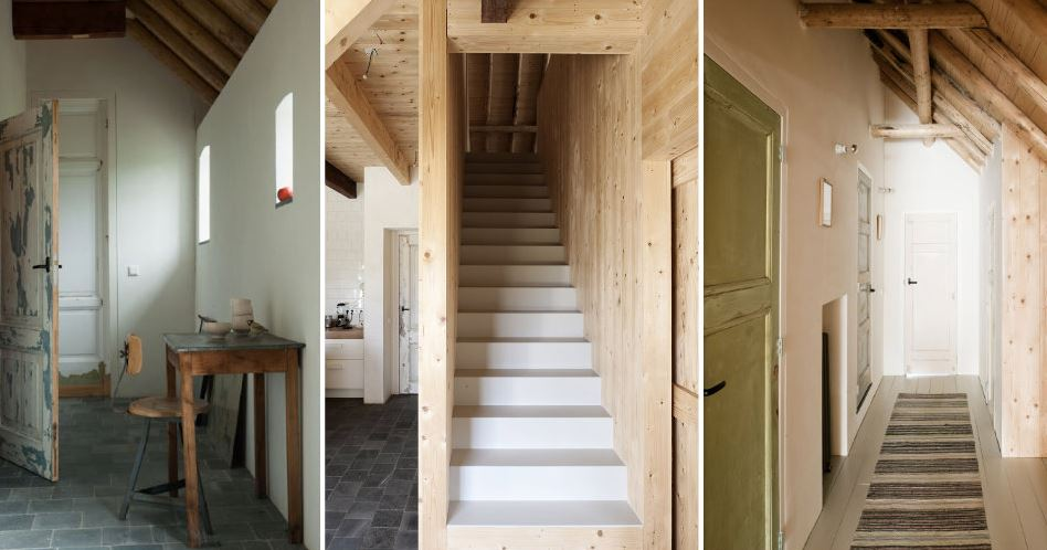 Grange rénovée par les architectes néerlandais Ina Matt, rénovée // Combles
