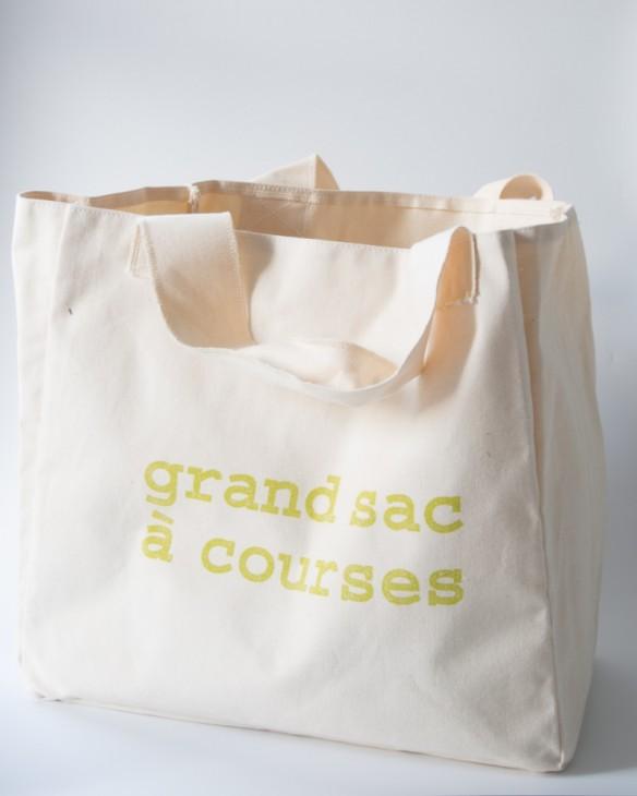 Les petites emplettes - Grand petit sac à course