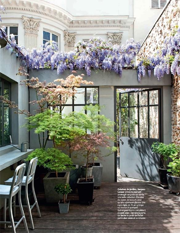 Un jardin dans la ville for Marie claire maison chambre