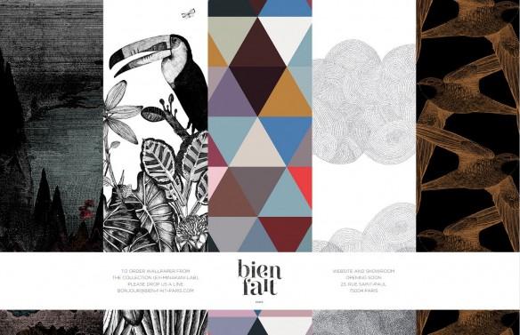 Page accueil du site de la marque Bien Fait