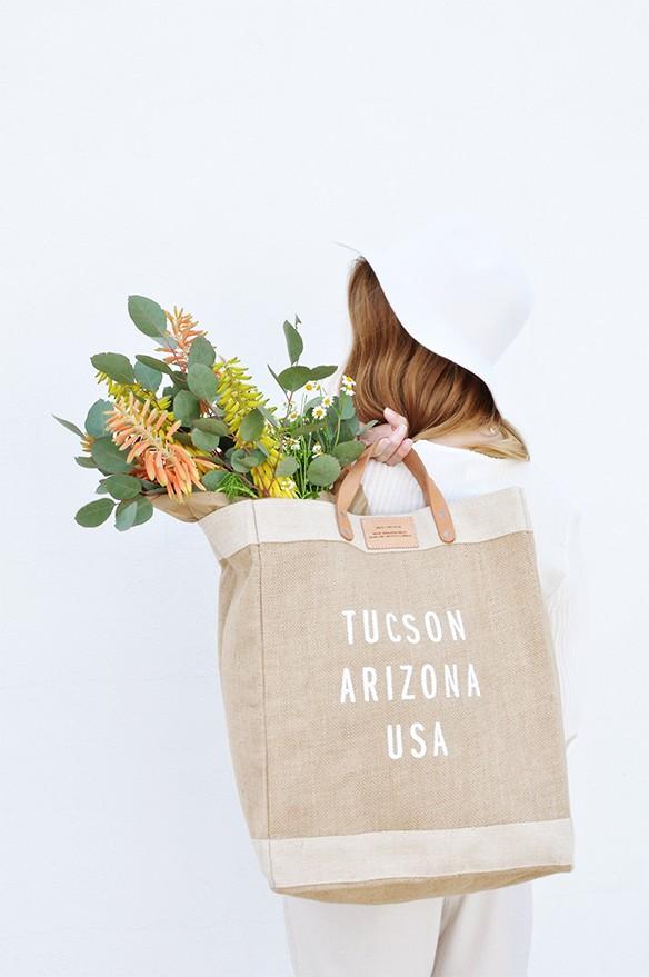 Fine Life Compagny shop -  Tucson market bag