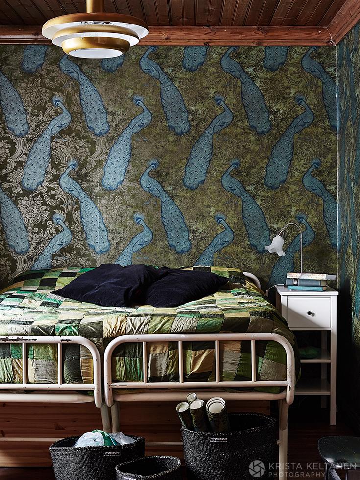 Une vieille ferme en Suède - Photo Krista Keltanen || Une chambre bohème