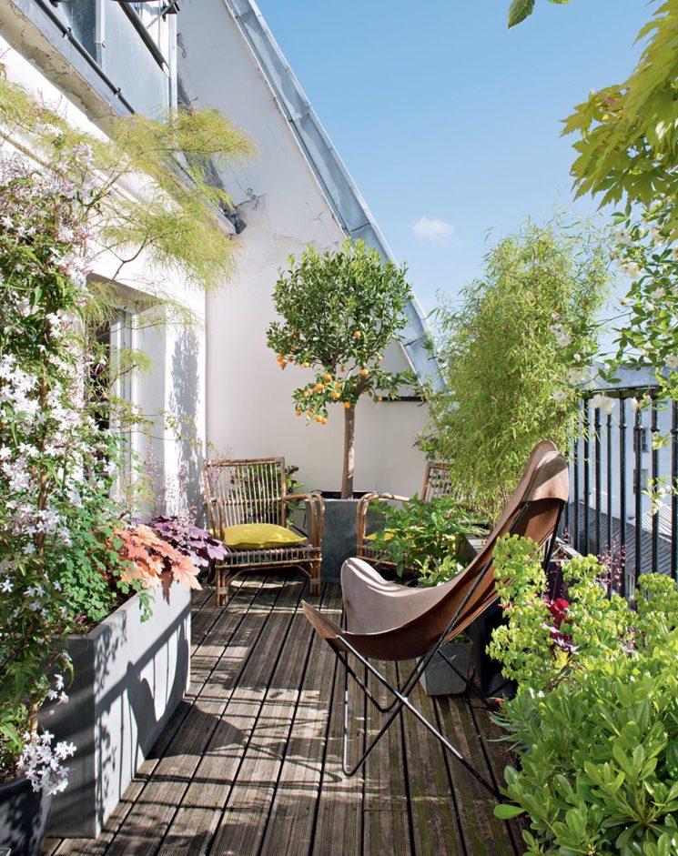 Terrasse de Jacques Leseur