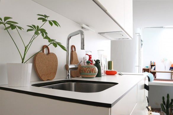 Alberto Bravo mini studio à Madrid || Un petite cuisine