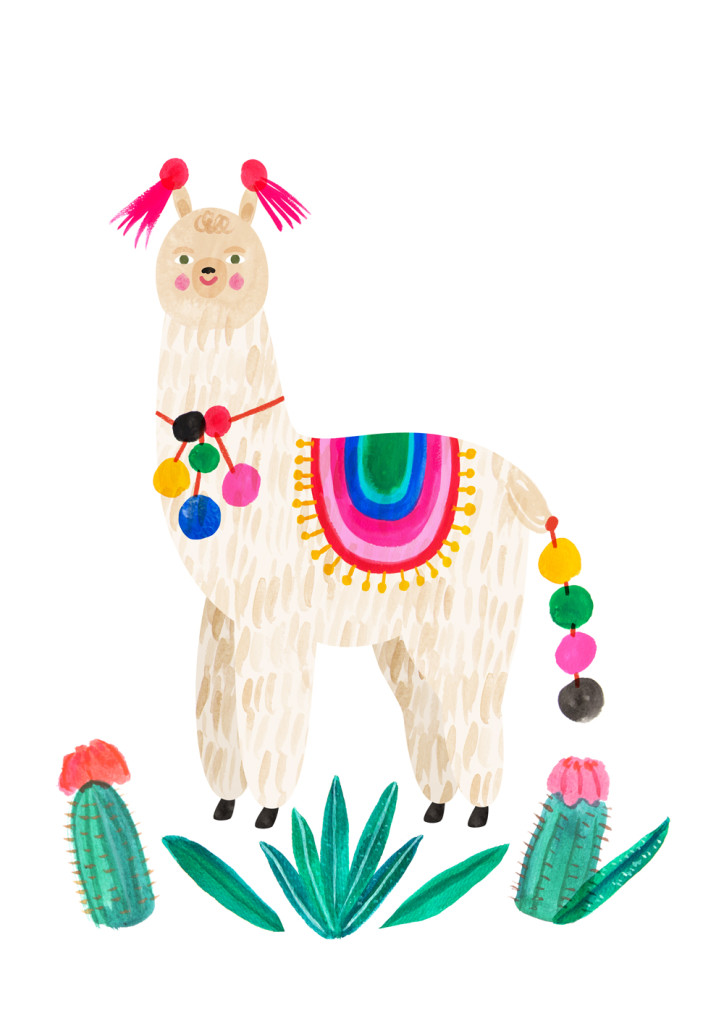 Emily Nelson illustration_Alpaca