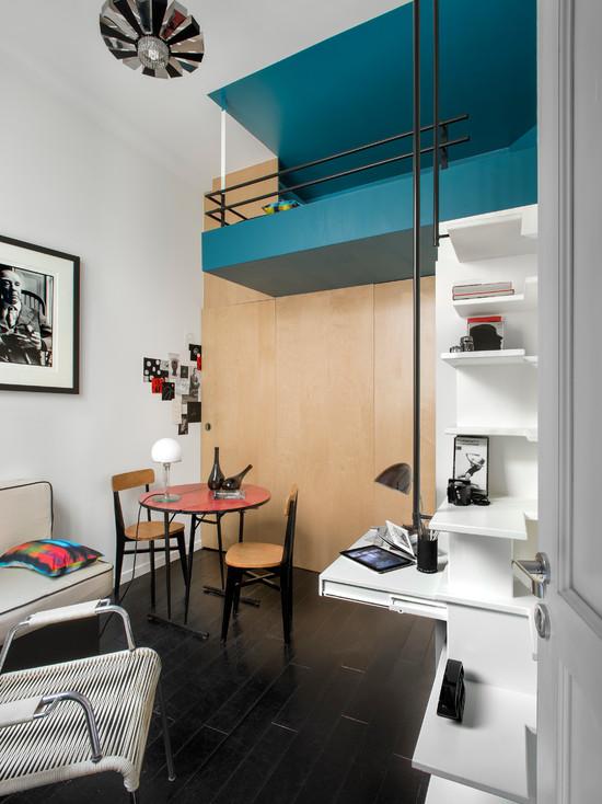 Architecte Estelle Griffe - Aménagement d'un appartement de 10 m2 à Broca