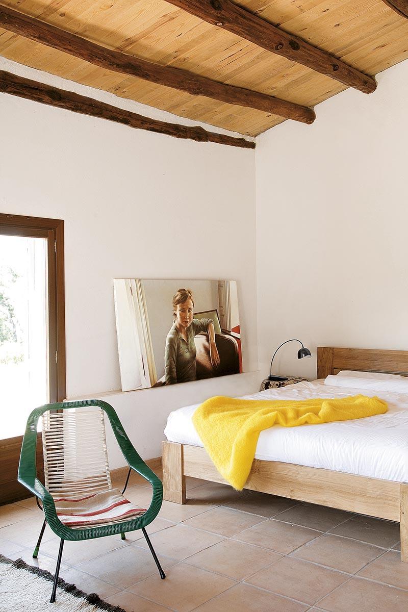 Le ranch d'Helena Rohner    Une chambre rustique moderne