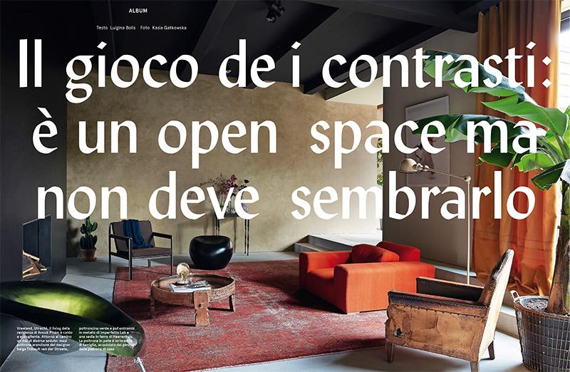 Une maison rustique aux allures de loft au Pays Bas || Décoration Brecht Murré