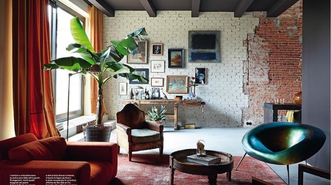 Une maison rustique aux allures de loft