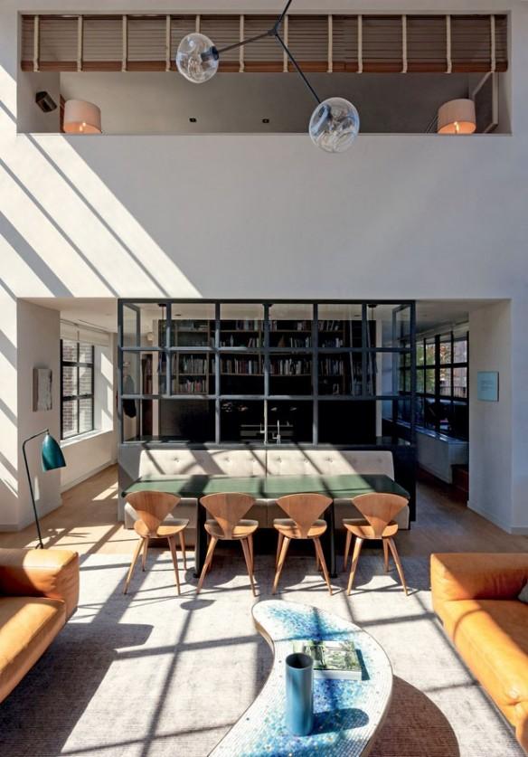Le loft d'Andre Mellone à New-York