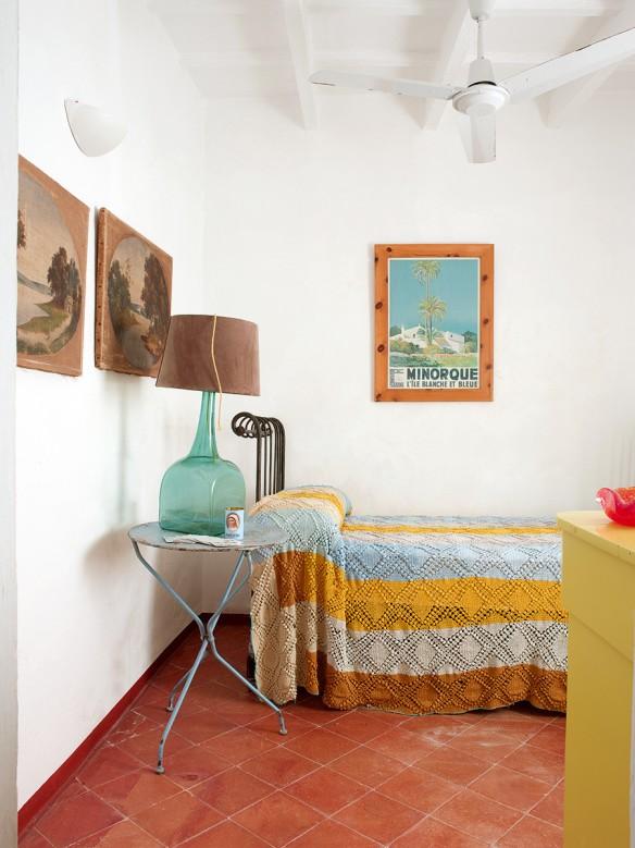 Réalisation de Maria Llado || Une maison à Menorca bohème et kitsch