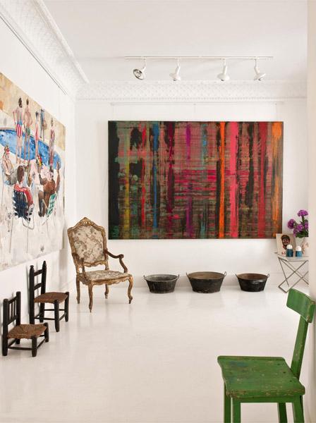 Maria Llado - Un appartement rue Fortuny à Madrid    Une déco kitsch et éclectique