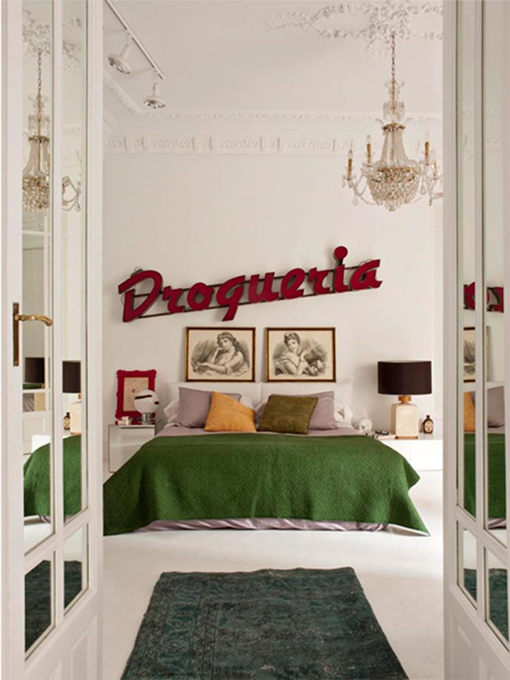 Maria Llado - Un appartement rue Fortuny à Madrid || Une déco kitsch et éclectique