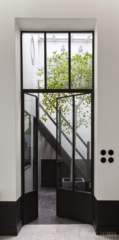 Obsession : les fenêtres en acier noires