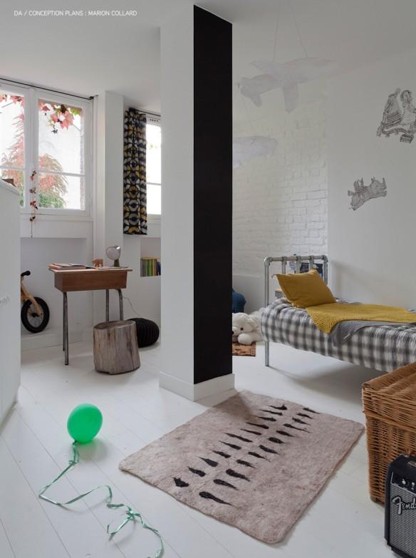 Appartement à Montmartre || Réalisation de l'architecte Marion Collard