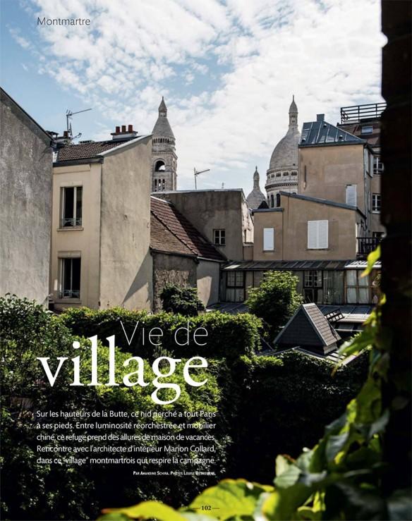Appartement à Montmartre || Réalisation de l'architecte Marion-Collard via Vivre Côté Paris