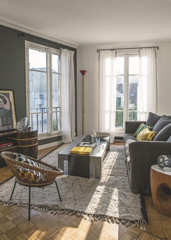 Appartement à Montmartre || Réalisation de l'architecte Marion-Collard