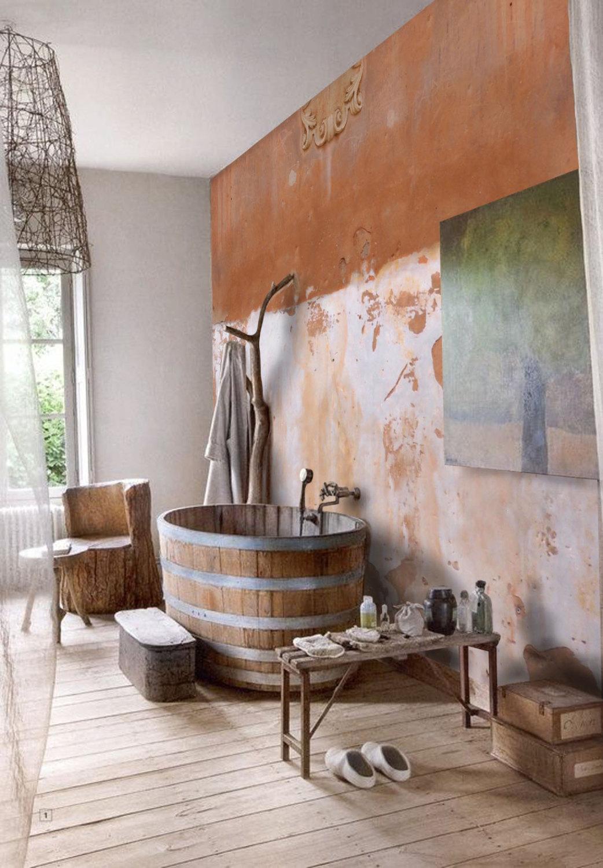 s lection de papiers peints en trompe l il. Black Bedroom Furniture Sets. Home Design Ideas