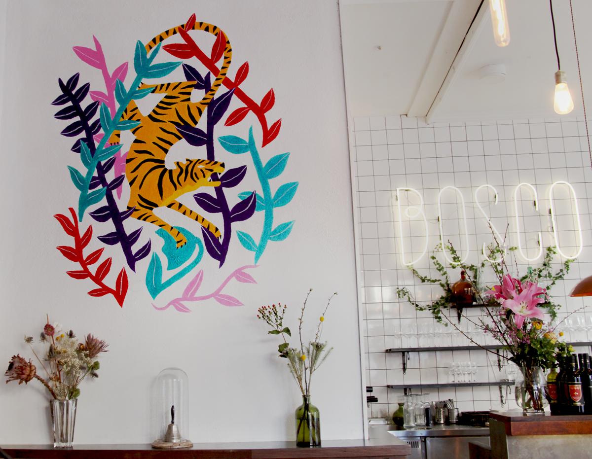 Aventure Tiger par Michela Picchi