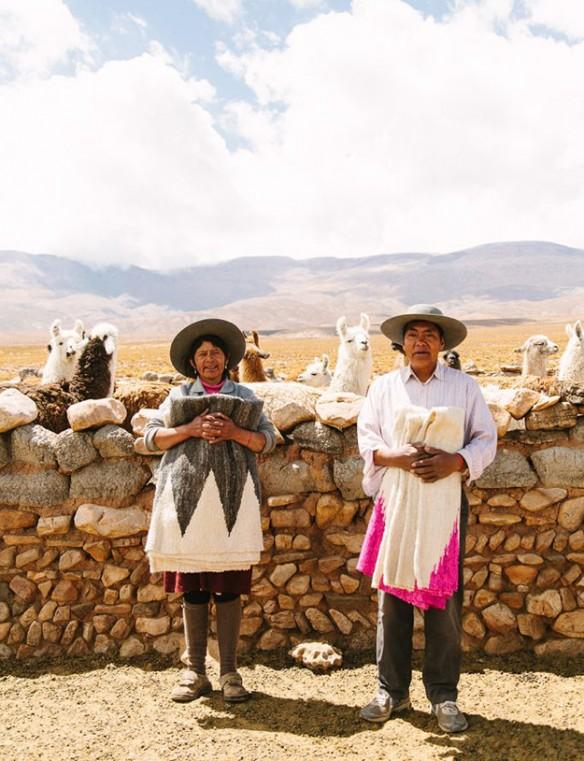 Les créations de Pampa réalisés par des artisans autochtones d'Argentine