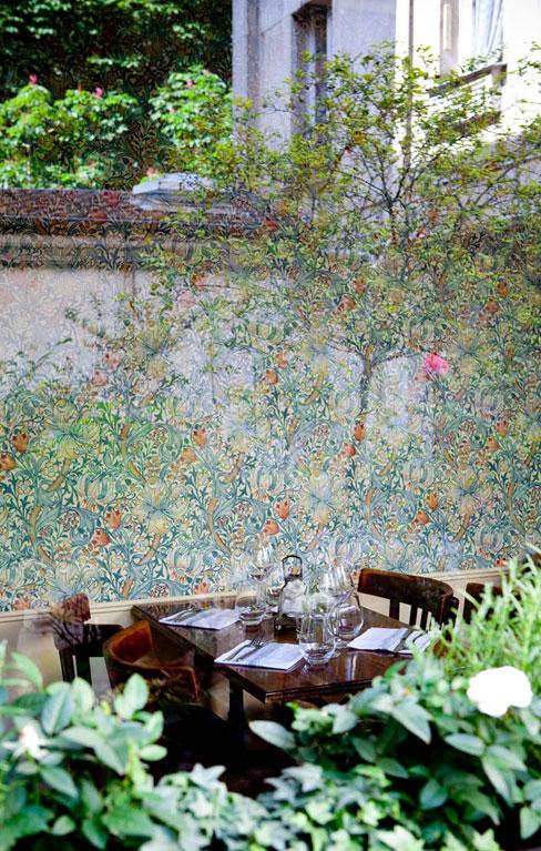 Rosemary restaurant à Paris par le studio Janreji