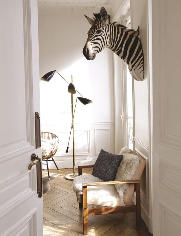 L'appartement parisien de Cécile Roederer (Smallable)