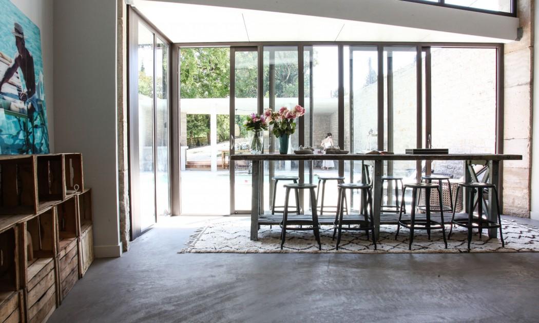 esprit loft industriel. Black Bedroom Furniture Sets. Home Design Ideas