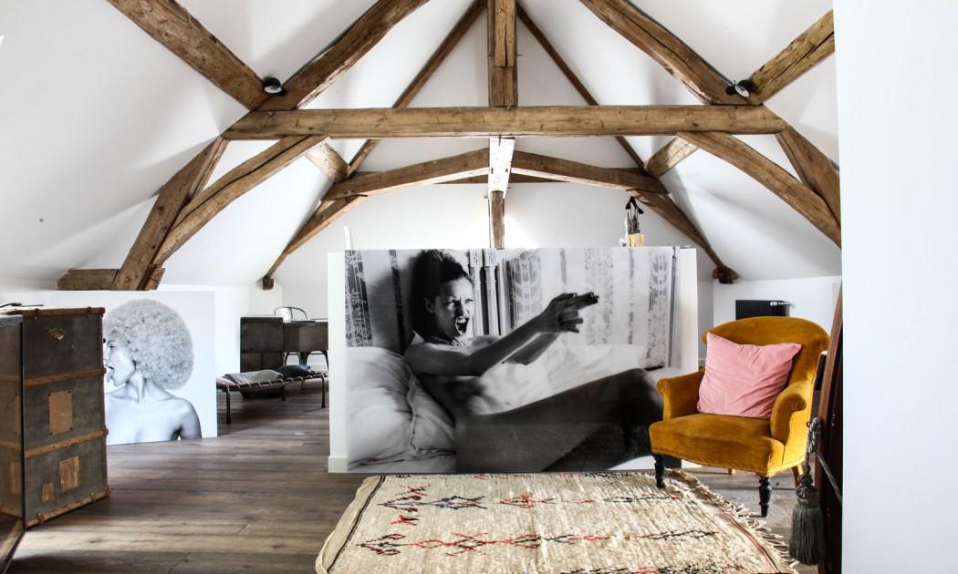 La maison de Clarisse Prudent en Bourgogne
