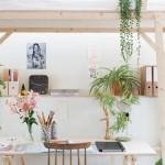 Boho Bohème et plantes