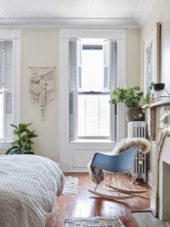 L'intérieur de Maryanne Moody et Aaron Moodie à Brooklyn