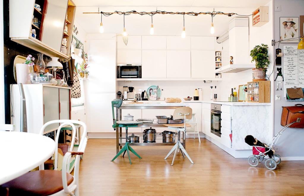Le duplex de Soraya et Michael Forsberg à Stockholm