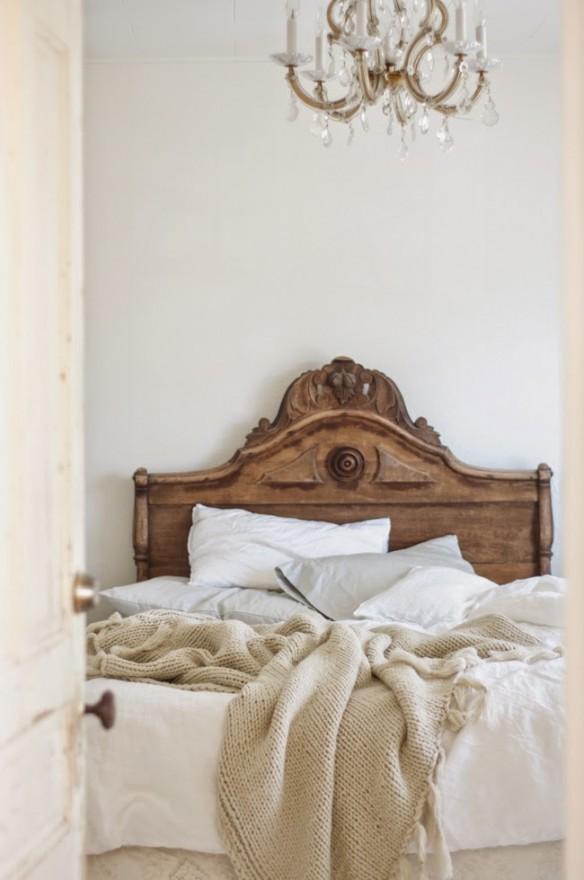 Un chambre romantique par vintagewhitesblog