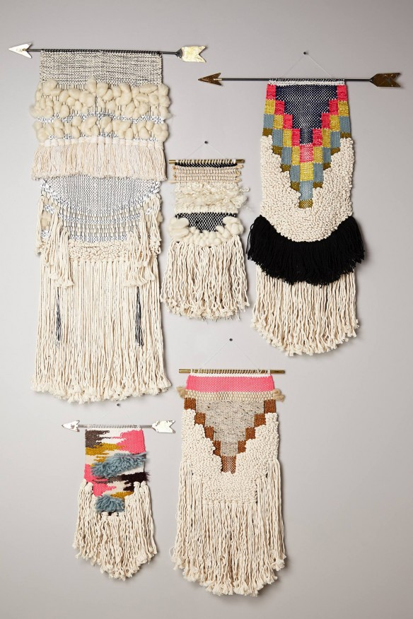 Handwoven Arrow Tapestry - All Roads Design pour Anthropologie