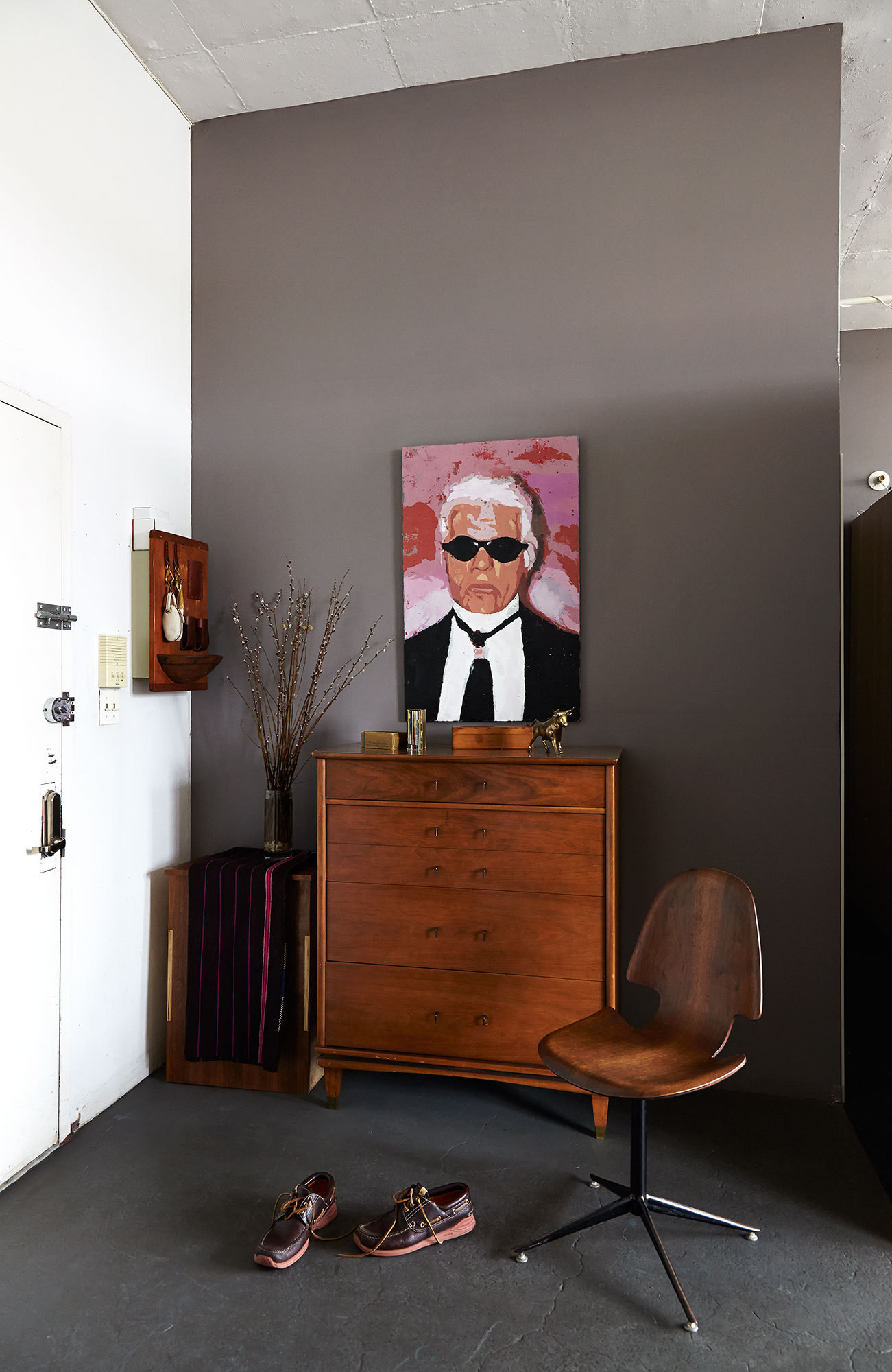 Le mini-loft d'Adam Davidson à Brooklyn