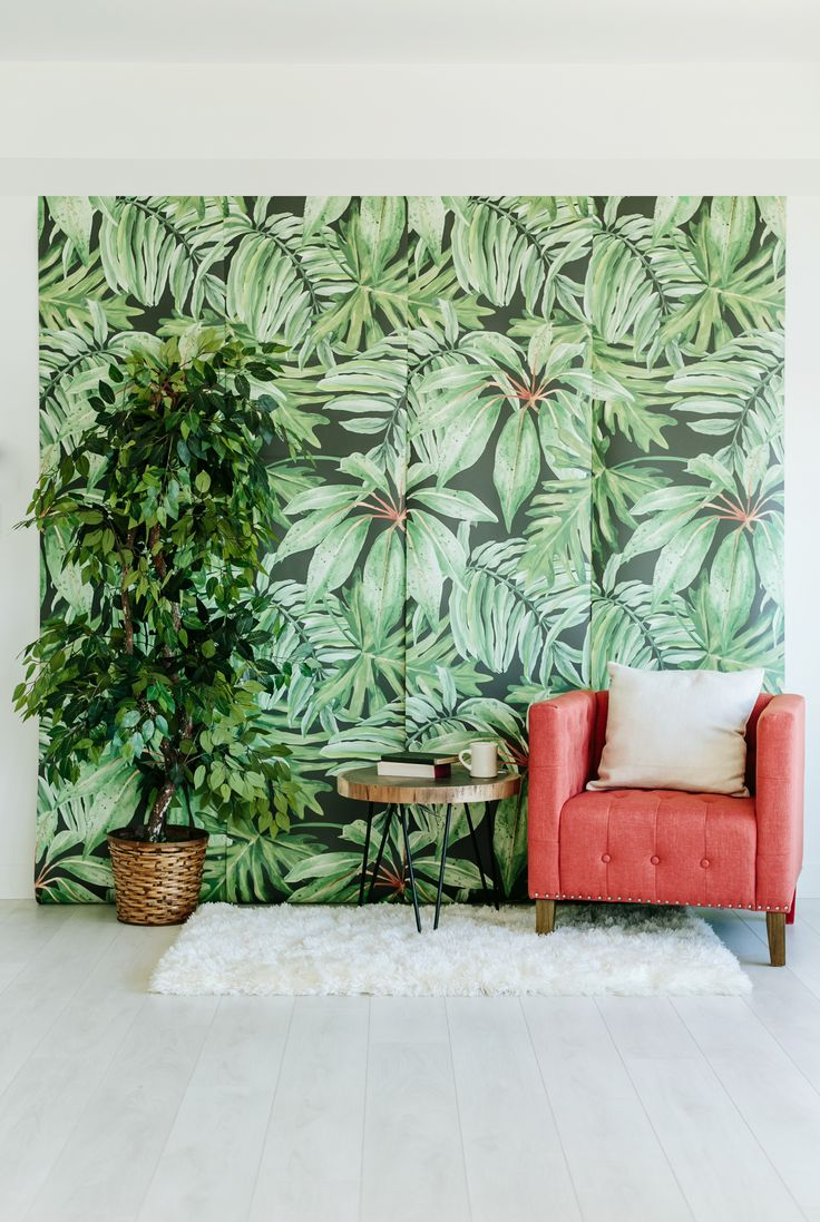 Anewall Decor - Banana Leaf wallpaper