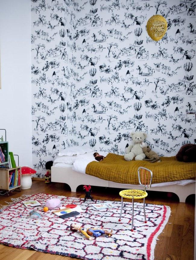 Chez C. Gennari || Chambre d'enfant bohème chic