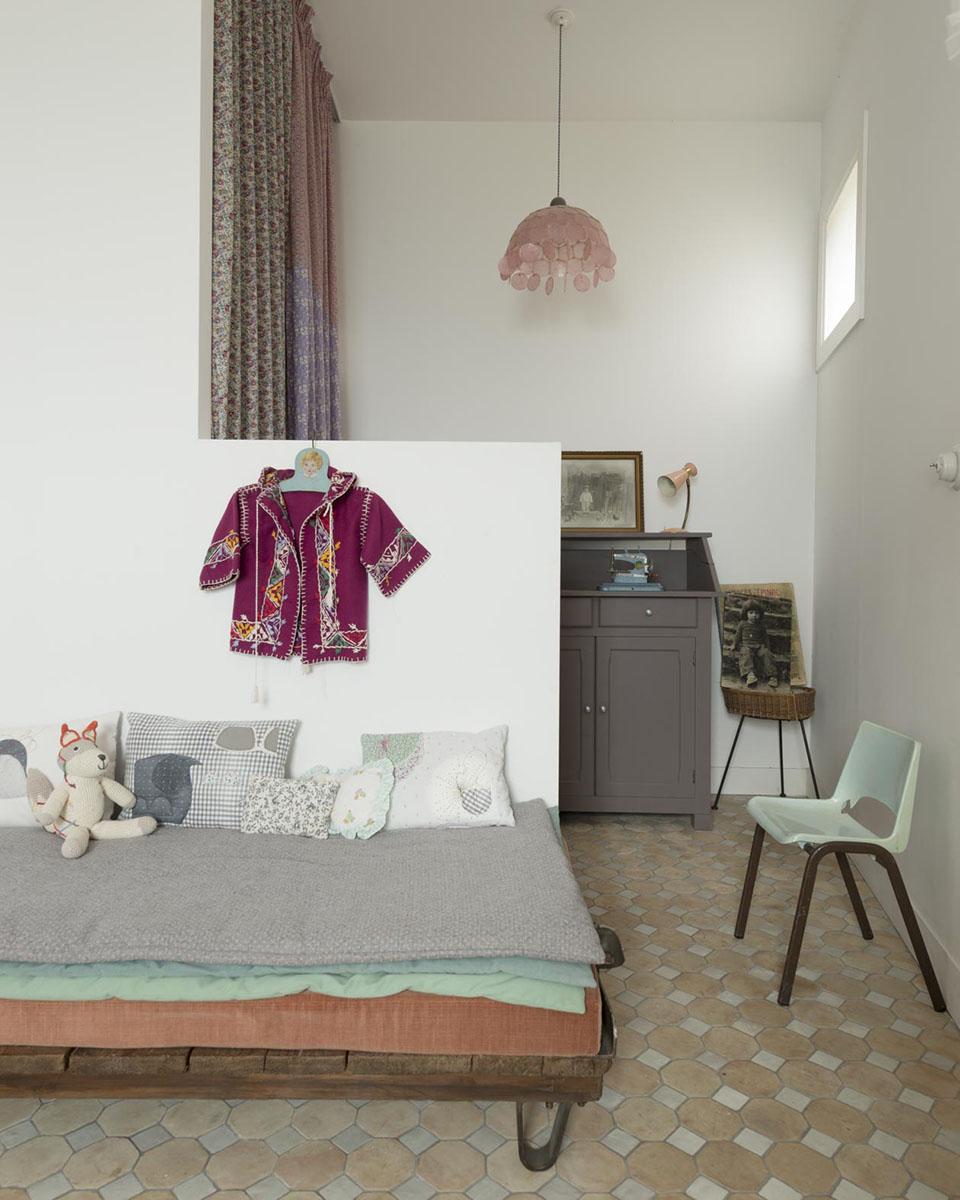 La maison d'Emma François à Marseille - Vincent Leroux Milk Décoration