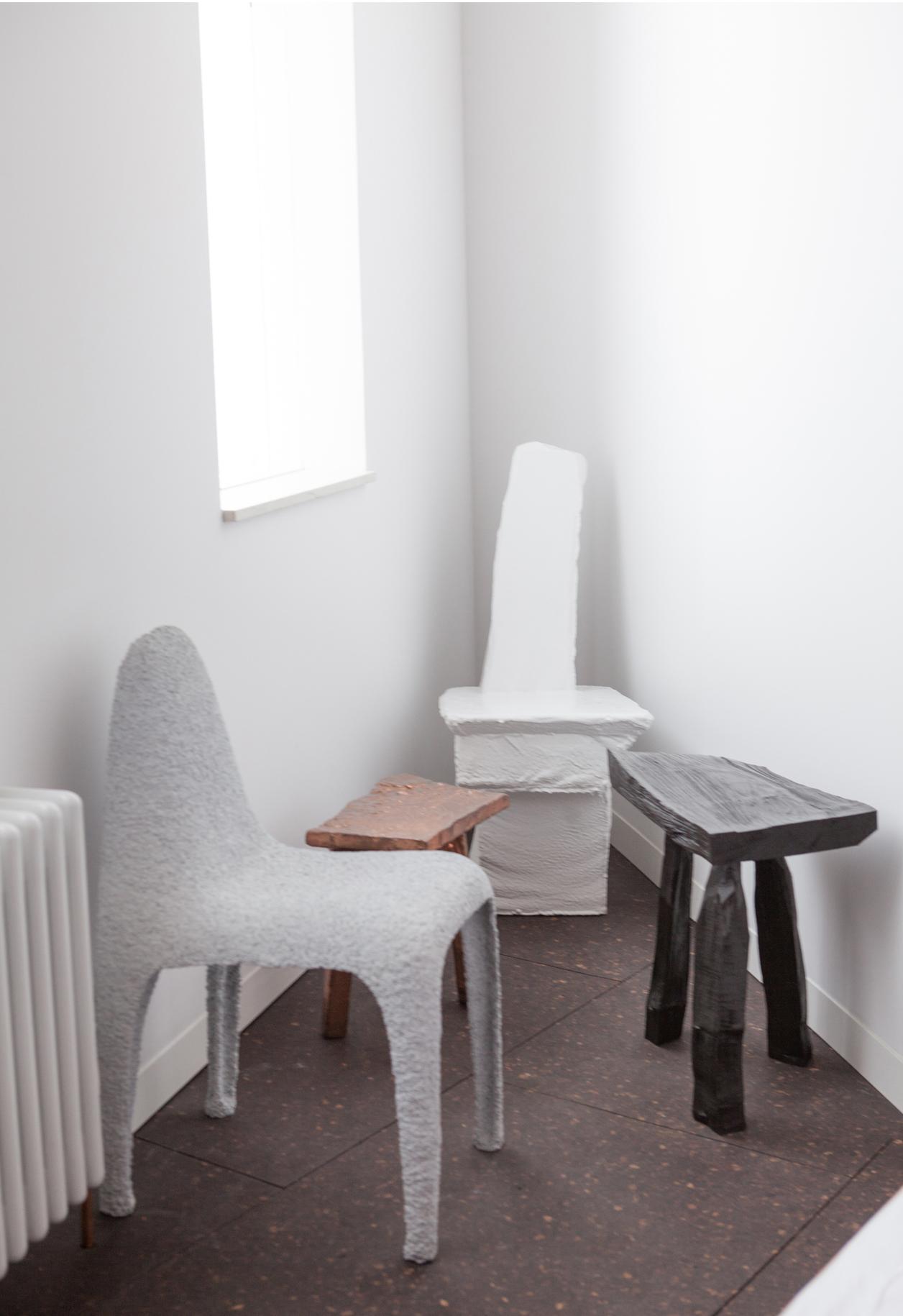 L'intérieur de la designer Gemma Holt à Londres