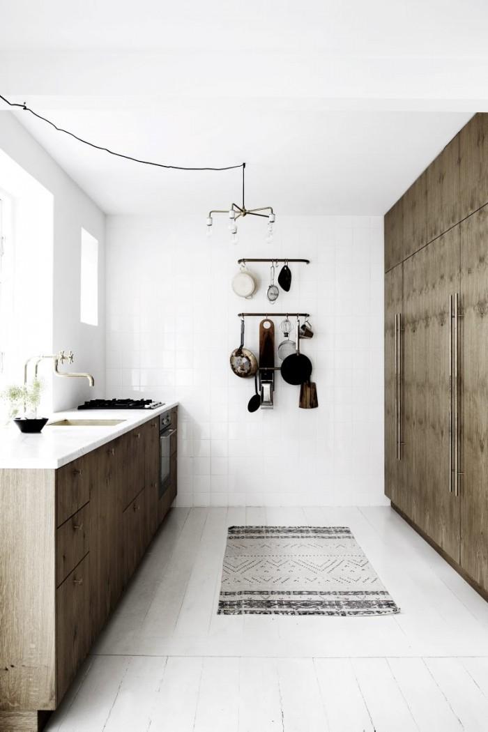 La cuisine de Kim Dolva || #minimalisme #bois #néo-rural