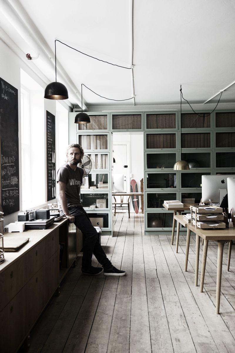 Kim Dolva office || #parquet #bois #menuiserie