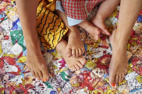 Catalogue bohème - collection enfant de la marque australienne Kip & Co AW15