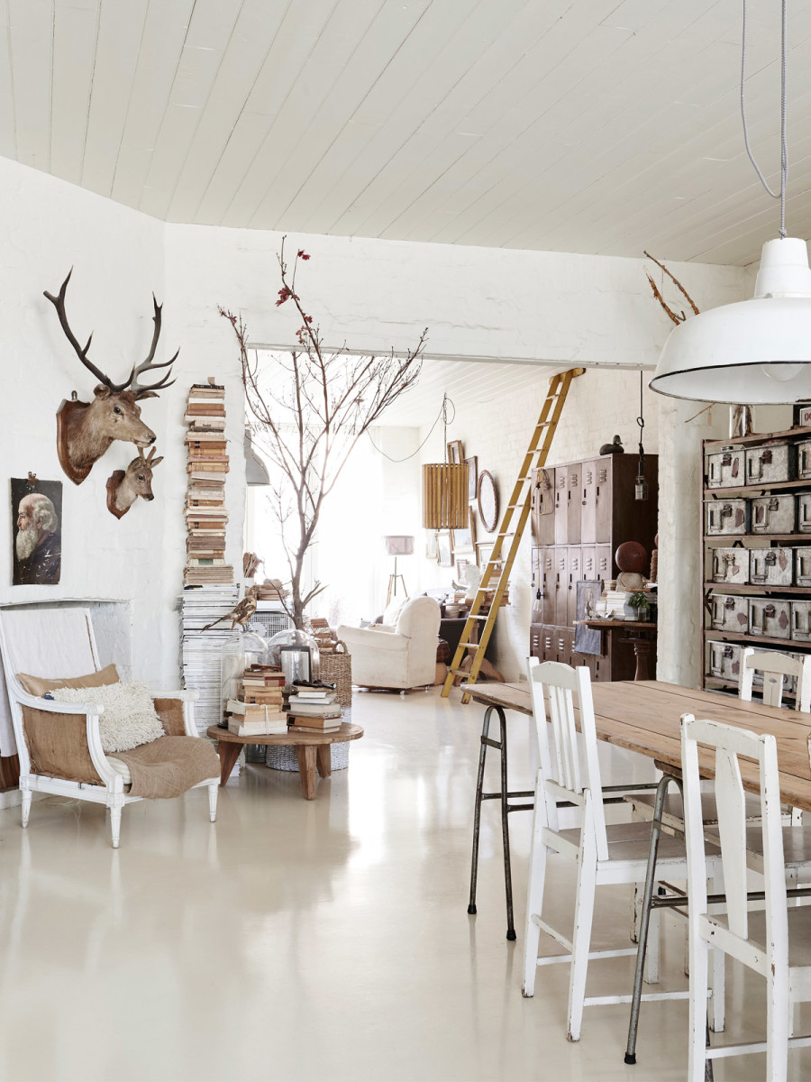 La maison de Lynda Gardener via thedesignfiles