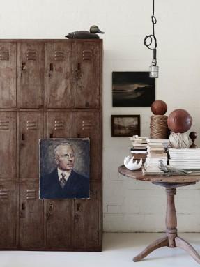 La maison de Lynda Gardener via thedesignfiles || #portraits